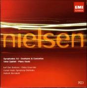 Herbert Blomstedt: Nielsen: Symphonies 1-6, Overtures & Concertos, Wind Quintet, Piano Music - CD