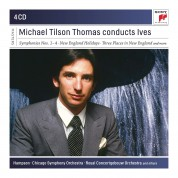Michael Tilson Thomas Conducts Ives - CD