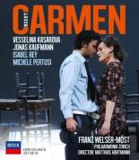 Chor und Orchester der Oper Zürich, Franz Welser-Möst, Isabel Rey, Jonas Kaufmann, Michele Pertusi, Vesselina Kasarova: Bizet: Carmen - DVD