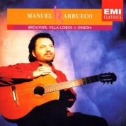 Manuel Barrueco: Brouwer/ Villa-Lobos/ Orbon - CD