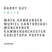Barry Guy: Folio - CD