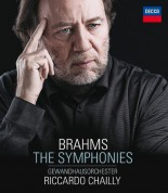 Gewandhausorchester Leipzig, Riccardo Chailly: Brahms: The Symphonies - BluRay Audio