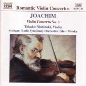 Takako Nishizaki: Joachim, J.: Violin Concerto No. 3 / Overtures, Opp. 4 and 13 - CD
