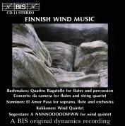 Gunilla von Bahr, Paavo Pohjola, Zahari Tchavdarov, Elemér Lavotha, Rainer Kuisma, Solveig Faringer, Swedish Radio Symphopny Orchestra: Finnish Wind Quintet Music - CD