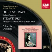 Alban Berg Quartett: Debussy/ Ravel/ Stravinsky: string Quartets - CD