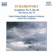 Narodowa Orkiestra Symfoniczna Polskiego Radia, Antoni Wit: Tchaikovsky: Symphony No. 5 & The Storm - CD