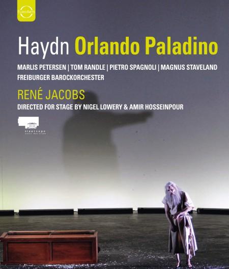 Marlis Petersen, Pietro Spagnoli, Tom Randle, Freiburger Barockorchester, René Jacobs: Haydn: Orlando Paladino - BluRay