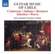 Jose Antonio Escobar: Escobar, Jose Antonio: Guitar Music of Chile - CD