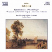 Parry: Symphony No. 2 / Symphonic Variations in E Minor - CD