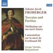 Sergio Vartolo: Froberger: Toccatas and Partitas / Meditation / Lamentation On the Death of Ferdinand Iii - CD