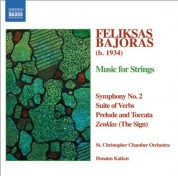 Donatas Katkus: Bajoras: Symphony No. 2 / Suite of Verbs / Prelude and Toccata / The Sign - CD