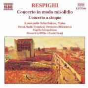 Konstantin Scherbakov: Respighi: Concerto in Modo Misolidio - Concerto a Cinque - CD