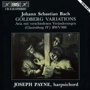 Joseph Payne: J.S. Bach: Goldberg Variations - CD