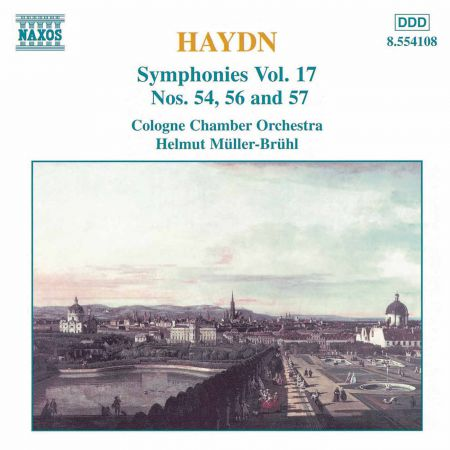 Haydn: Symphonies, Vol. 17 (Nos. 54, 56, 57) - CD