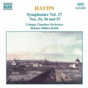 Haydn: Symphonies, Vol. 17 (Nos. 54, 56, 57) - CD