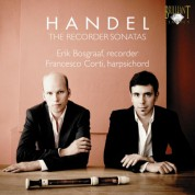 Erik Bosgraaf, Francesco Corti: Handel: The Recorder Sonatas - CD