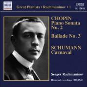 Sergey Vasilievich Rachmaninov: Rachmaninov: Piano Solo Recordings, Vol. 1 - CD