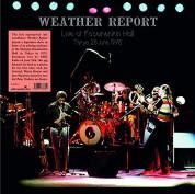 Weather Report: Live at Shinjuku Koseinenkin Hall Tokyo - Plak