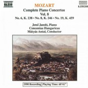 Mozart: Piano Concertos Nos. 6, 8 and 19 - CD