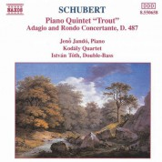 Schubert: Trout Quintet / Adagio and Rondo Concertante - CD