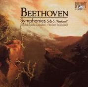 Staatskapelle Dresden, Herbert Blomstedt: Beethoven: Symphonies 5 & 6 - CD