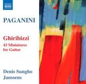 Denis Sung-ho Janssens: Paganini: Ghiribizzi - CD