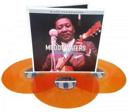 Muddy Waters: Rollin' Stone (Orange Vinyl) - Plak