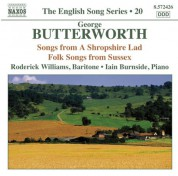 Roderick Williams: English Song Series, Vol. 20: Butterworth - CD
