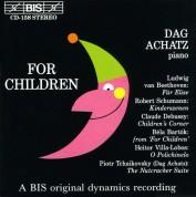 Dag Achatz: For Children for piano - CD
