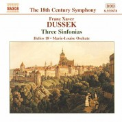 Dussek: Three Sinfonias - CD