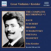 Fritz Kreisler: Kreisler: Complete Recordings, Vol. 1 (1904, 1910) - CD