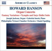 Hanson: Concerto for Organ, Harp and Strings / Nymphs and Satyr - CD