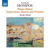 Jordi Masó: Mompou: Piano Music, Vol. 6 - CD