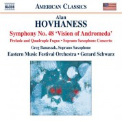 Greg Banaszak, Eastern Music Festival Orchestra, Gerard Schwarz: Hovhaness: Works for Orchestra & Soprano Saxophone - CD