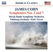 Slovak Radio Symphony Orchestra: Cohn: Symphonies Nos. 2 and 7 / Variations On The Wayfaring Stranger - CD