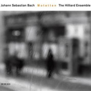 The Hilliard Ensemble: Johann Sebastian Bach: Motetten - CD