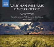 James Judd: Vaughan Williams, R.: Piano Concerto - CD