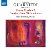 Max Barros: Guarnieri: Piano Music, Vol. 1 - CD