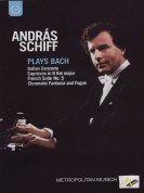 András Schiff: J.S. BACH: Italian Concerto / Capriccio / French Suite No. 5 / Chromatic Fantasia and Fugue - DVD