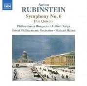 Michael Halász, Philharmonia Hungarica, Slovak Philharmonic Orchestra, Gilbert Varga: Rubinstein: Symphony No. 6 - CD