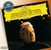 Berliner Philharmoniker, Herbert von Karajan: Respighi/ Boccherini/ Albinoni - CD