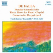 Çeşitli Sanatçılar: Falla: Popular Spanish Suite / Piano  Pieces / Harpsichord Concerto - CD