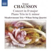 Meadowmount Trio: Chausson: Concert in D major - Piano Trio in G minor - CD