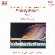 Balázs Szokolay: Romantic Piano Favourites, Vol.  9 - CD