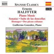 Guillermo Gonzalez: Halffter, E.: Piano Music - CD