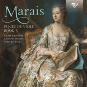 Rainer Zipperling, Ghislaine Wauters, Pieter-Jan Belder: Marais: Pièces de Viole, Book 5 - CD