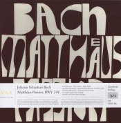 Peter Schreier, Dresdner Kreuzchor, Gewandhausorchester Leipzig, Rudolf Mauersberger, Erhard Mauersberger: J.S. Bach: Matthäus‐Passion - Plak