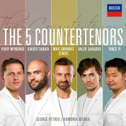 Yuri Minienko, Max Emanuel Cencic, Valer Sabadus, Vince Yi, Xavier Sabata: The 5 Countertenors - CD