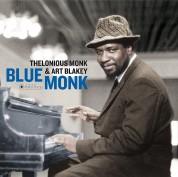 Thelonious Monk, Art Blakey: Blue Monk (Gatefold Packaging. Photographs By William Claxton) - Plak