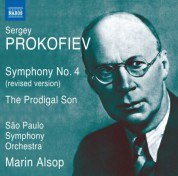Marin Alsop, Sao Paulo Symphony Orchestra: Prokofiev: Symphony No. 4 (revised 1947 version) & L'enfant prodigue (The Prodigal Son) - CD